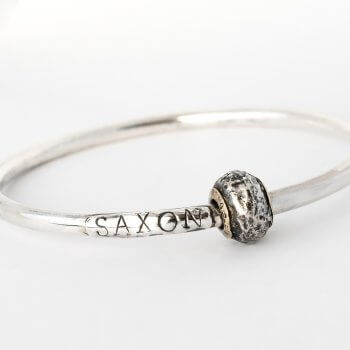 Ash-infused-charm-on-bangle